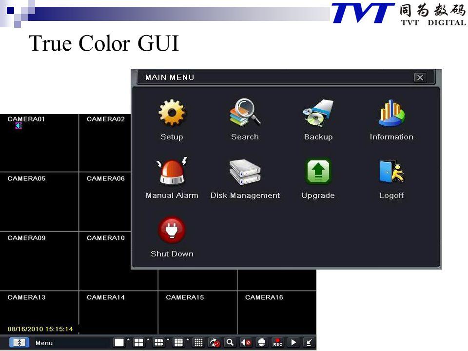 True Color GUI