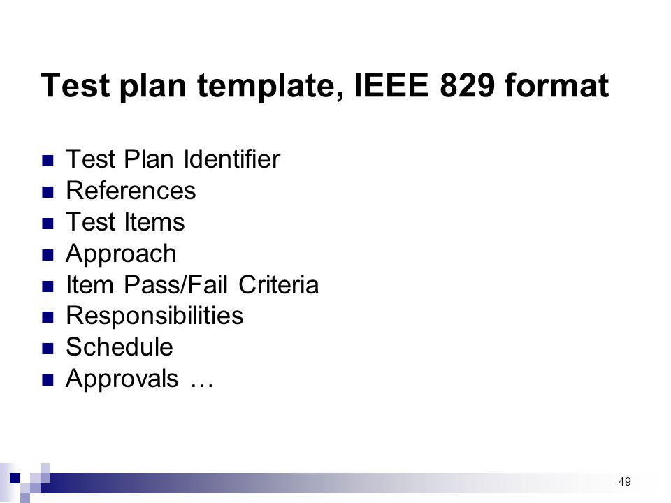 Top Result 60 Beautiful Ieee 829 Test Strategy Template Photos 2017 ...