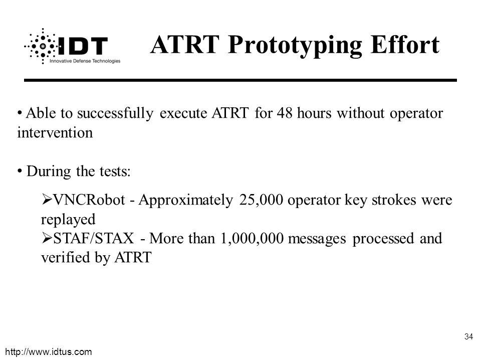 ATRT Prototyping Effort