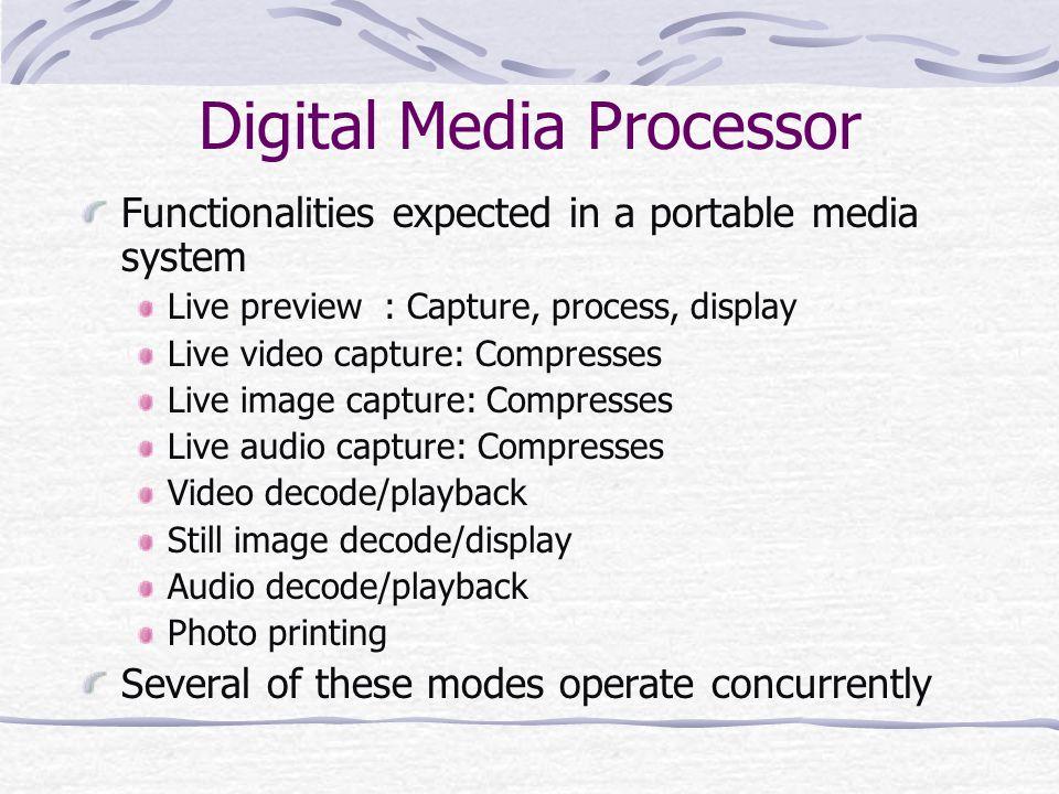 Digital Media Processor