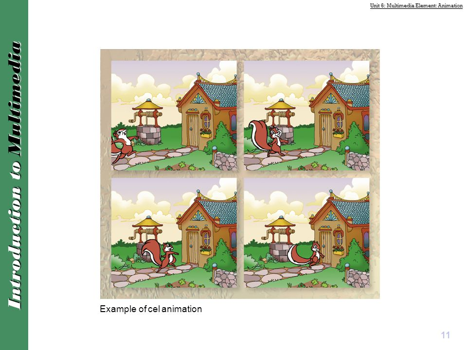 Example of cel animation