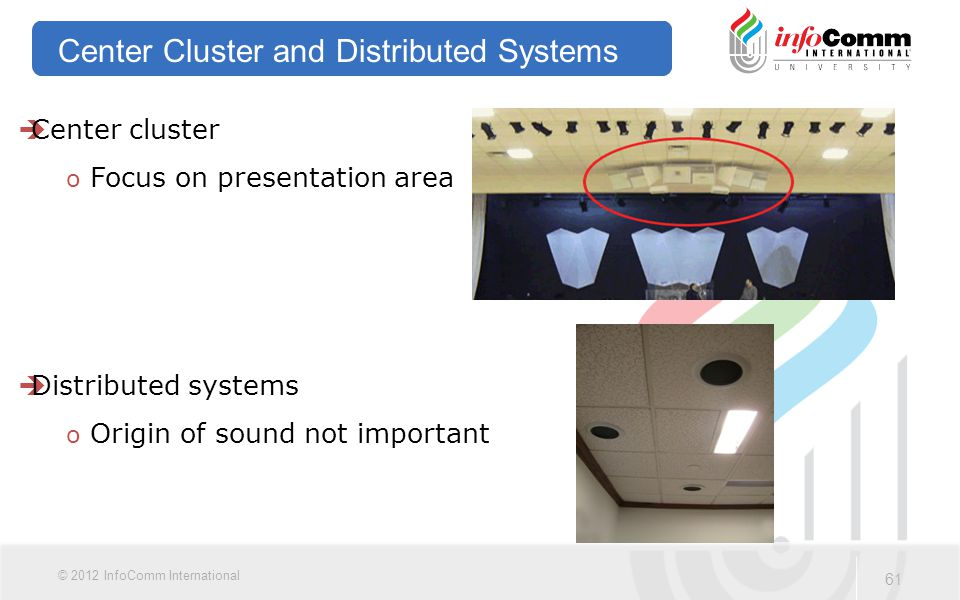 Center Cluster and Distributed Systems