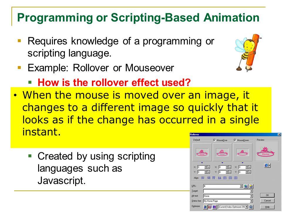 Programming or Scripting-Based Animation
