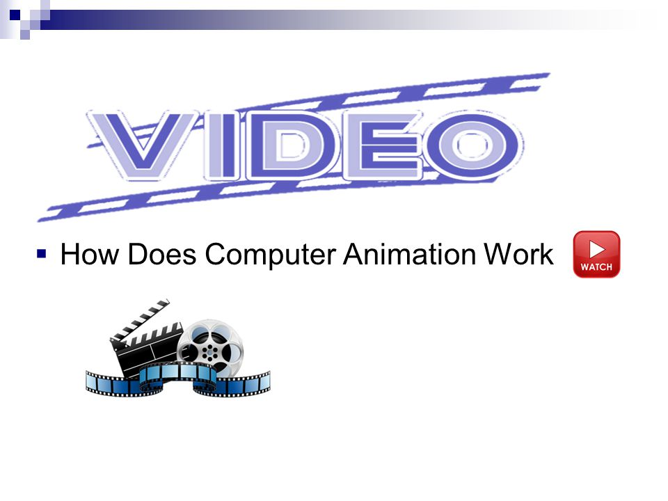 How Does Computer Animation Work