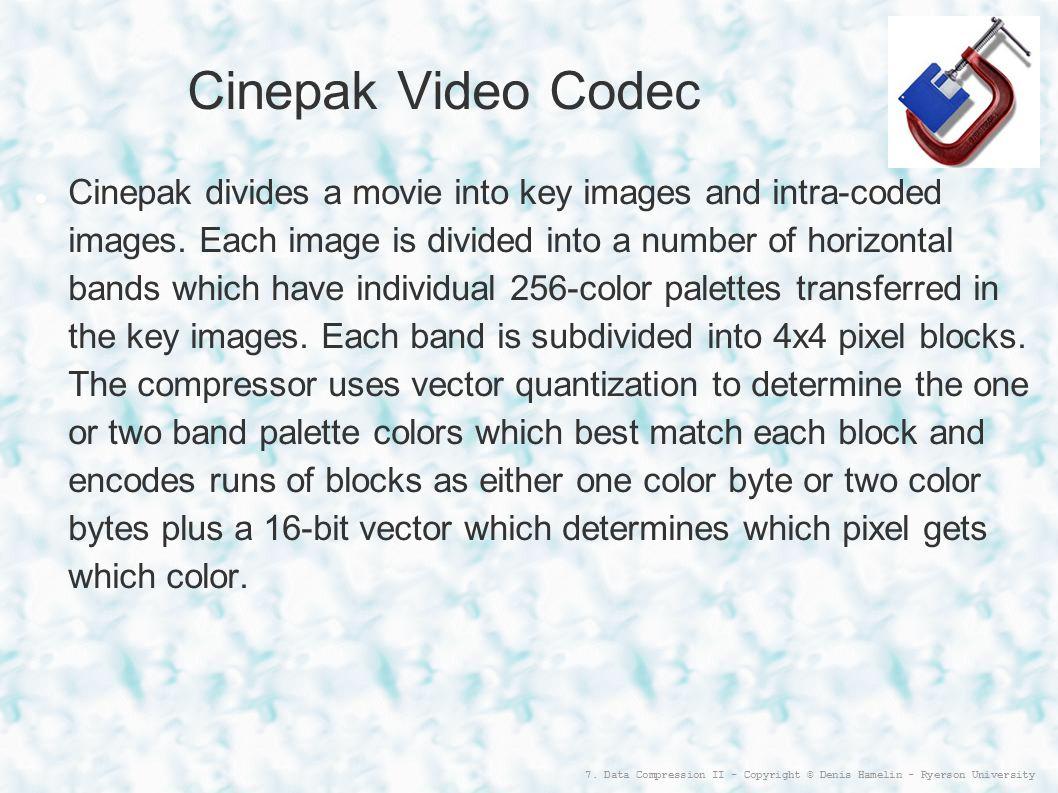 Cinepak Video Codec