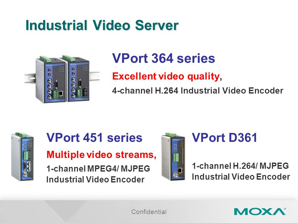 Industrial Video Server