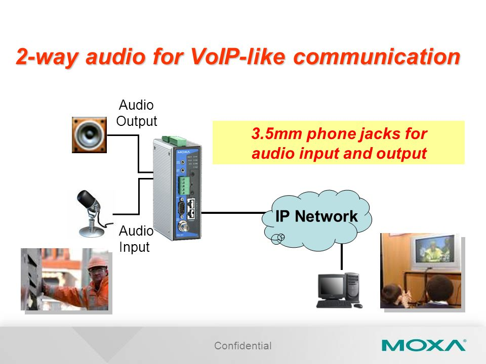 2-way audio for VoIP-like communication