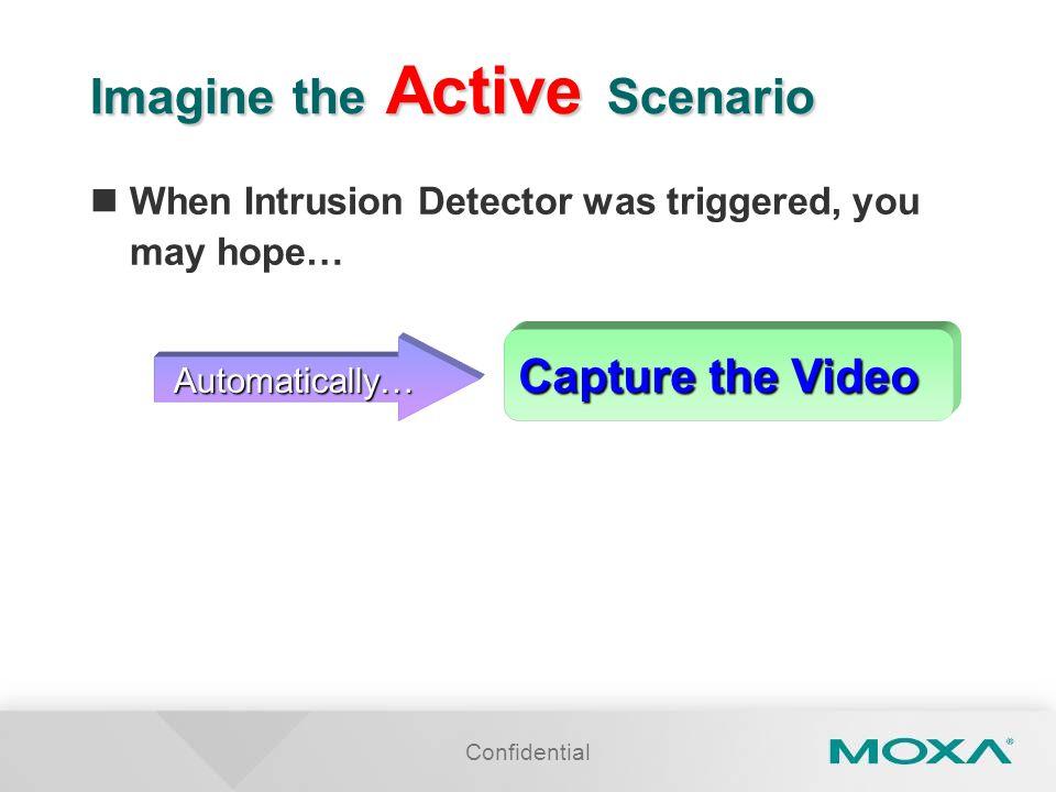 Imagine the Active Scenario
