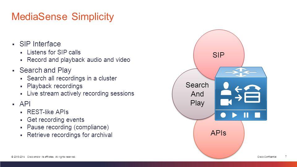 MediaSense Simplicity