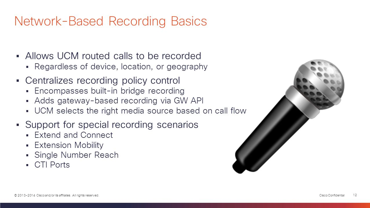 Network-Based Recording Basics
