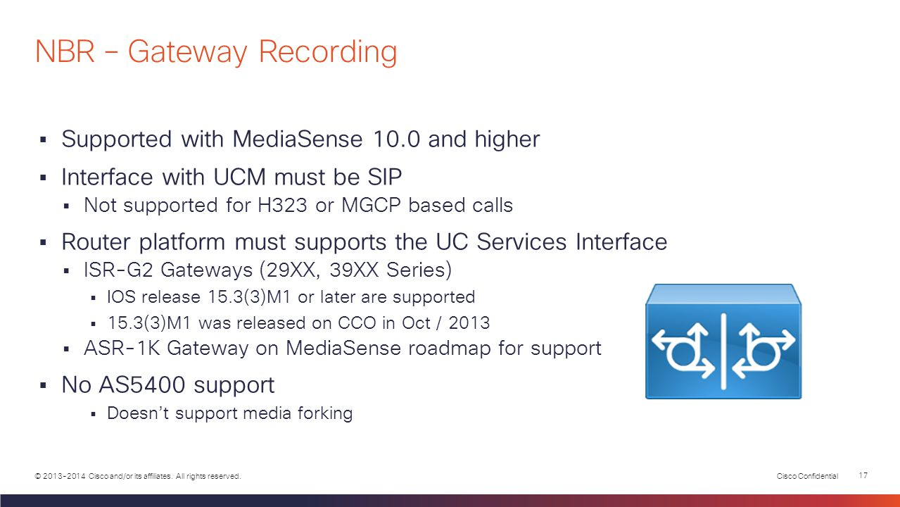 NBR – Gateway Recording