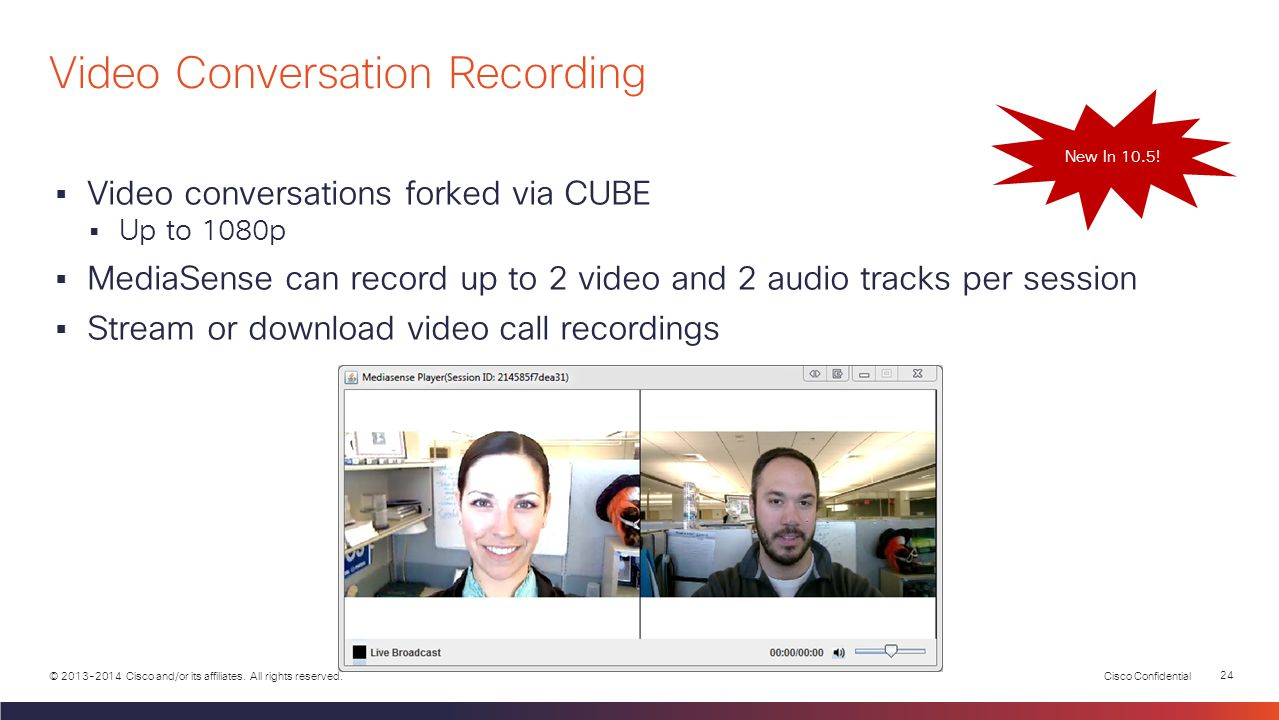 Video Conversation Recording