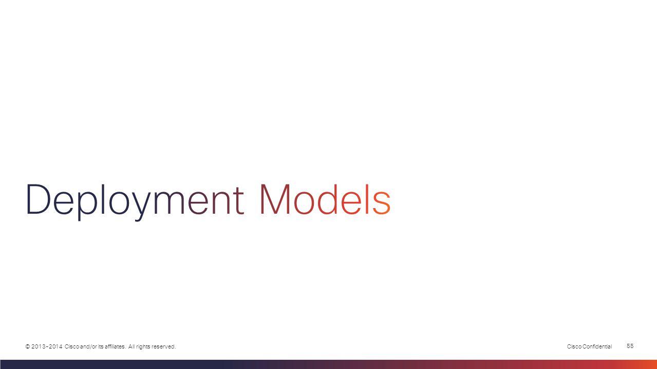 Deployment Models