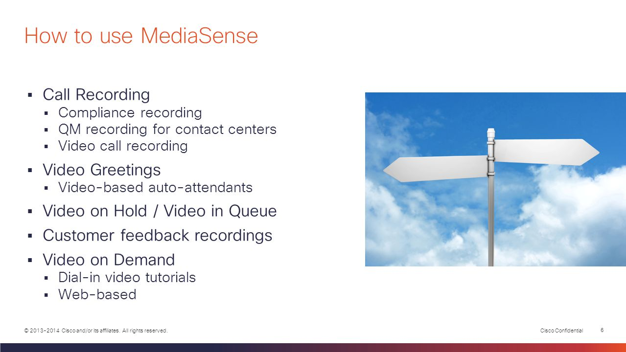 How to use MediaSense Call Recording Video Greetings
