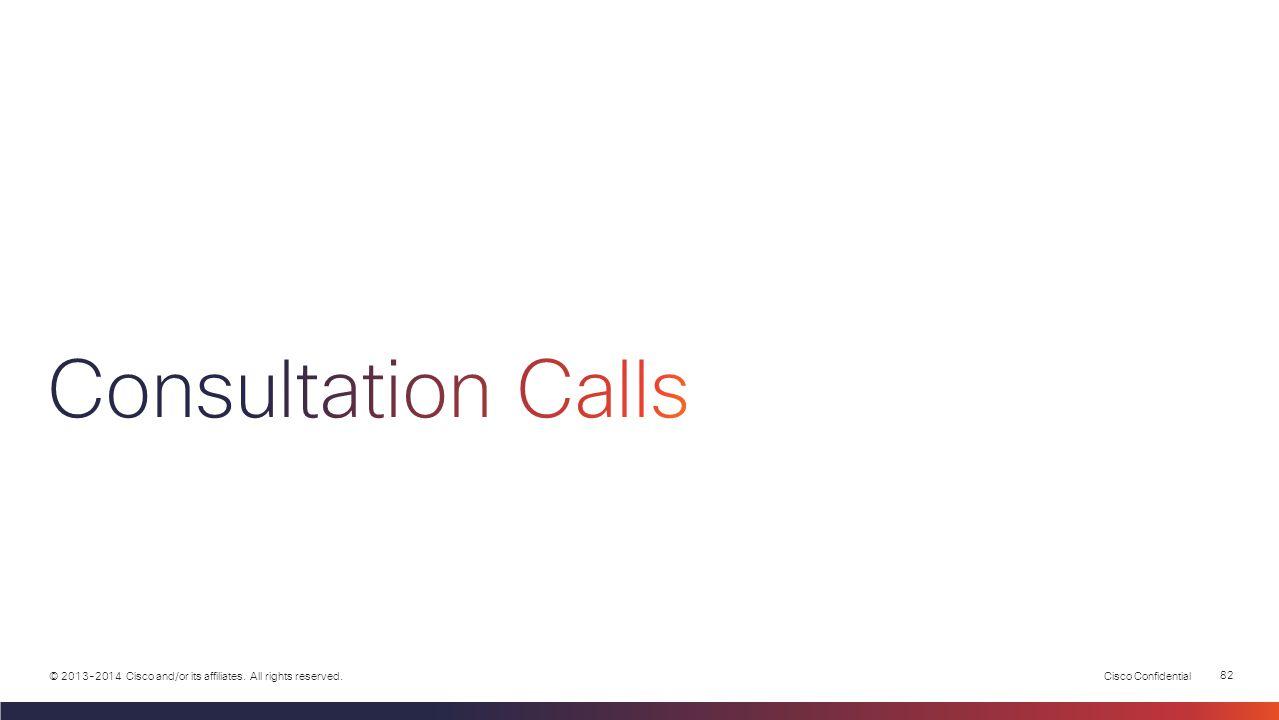 Consultation Calls