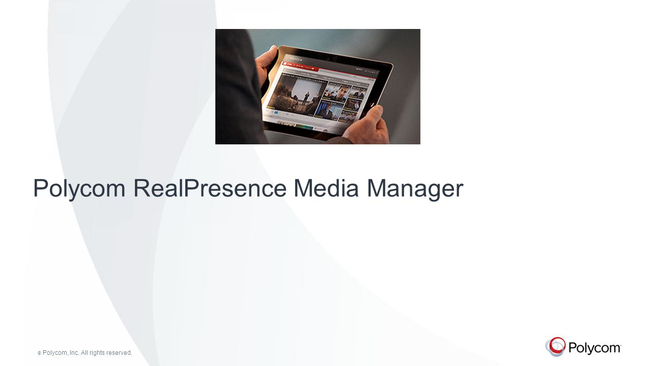 Polycom RealPresence Media Manager