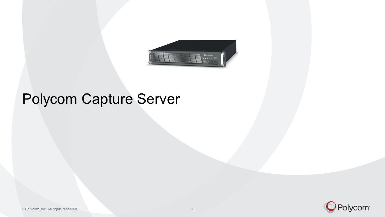 Polycom Capture Server