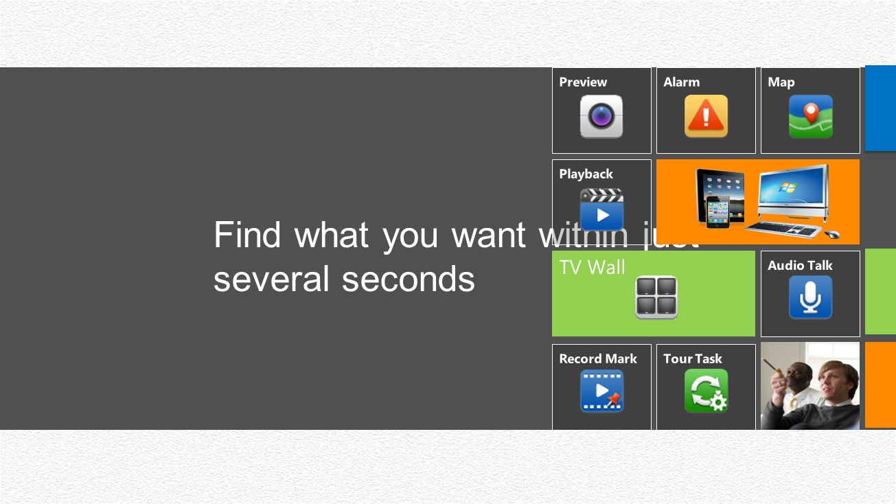 Find what you want within just several seconds