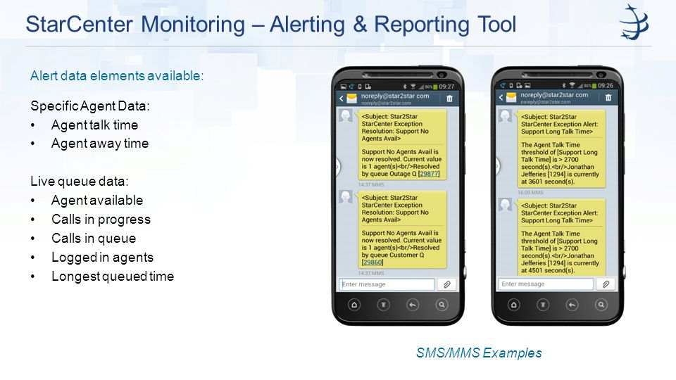 StarCenter Monitoring – Alerting & Reporting Tool