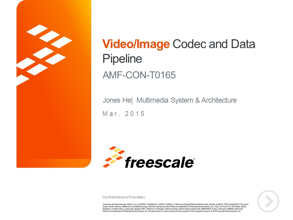 Agenda Video/Image/Graphics System in iMX6