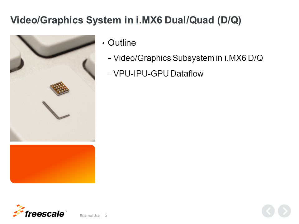 Video/Graphics Subsystem in i.MX6 D/Q