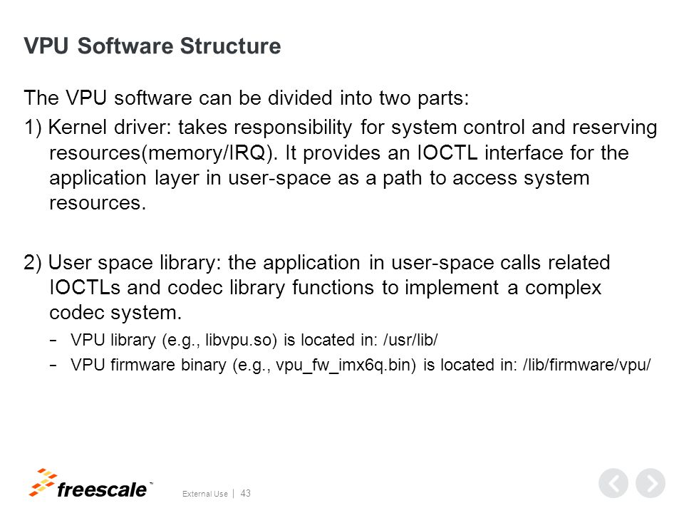 Source Code Structure (Kernel Driver)