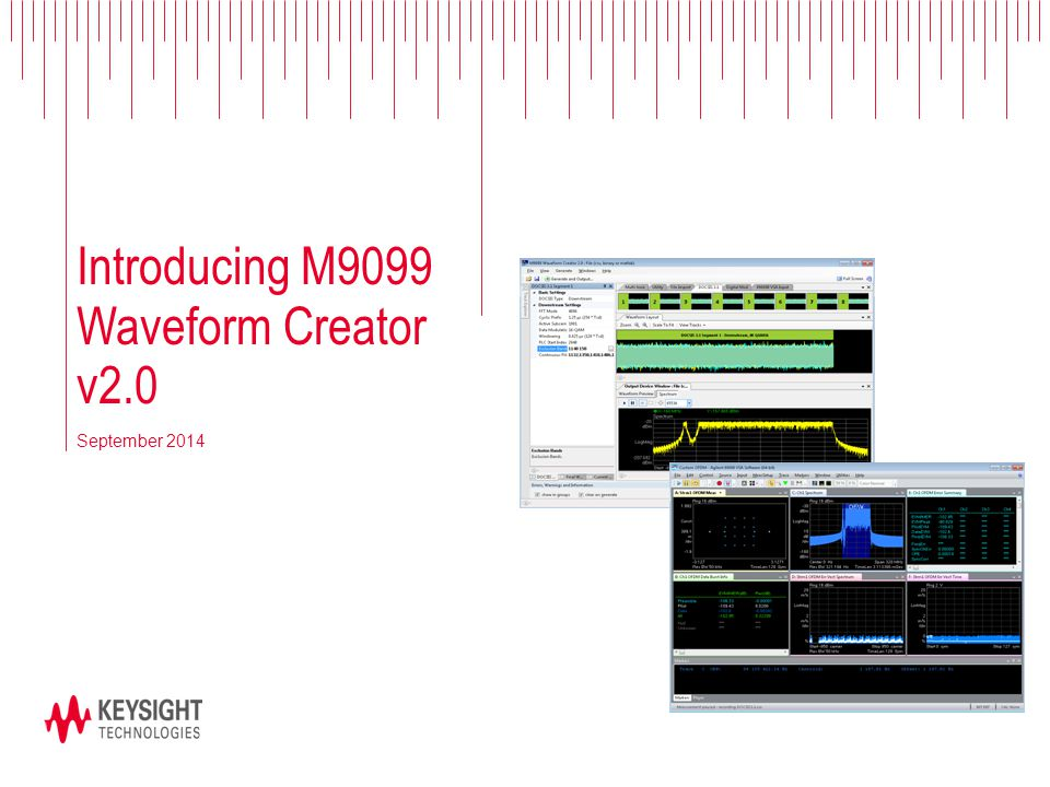 Introducing M9099 Waveform Creator v2.0