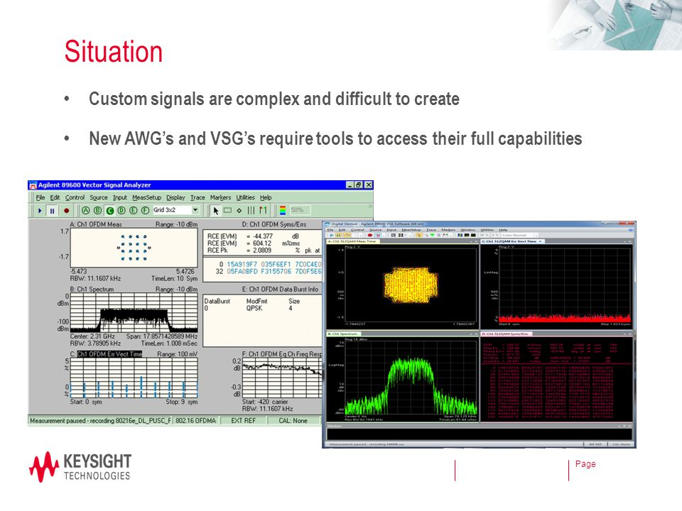Situation Custom signals are complex and difficult to create