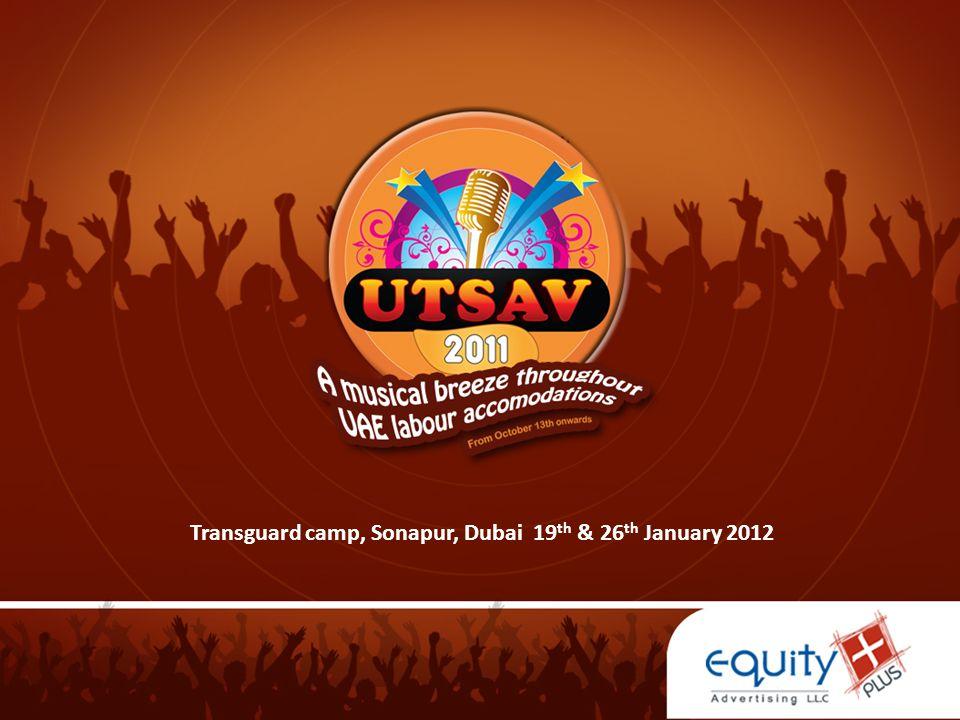 Transguard camp, Sonapur, Dubai 19th & 26th January 2012