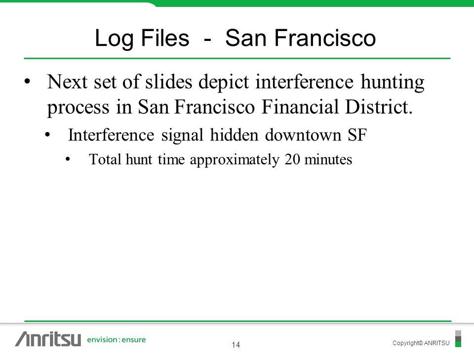 Log Files - San Francisco