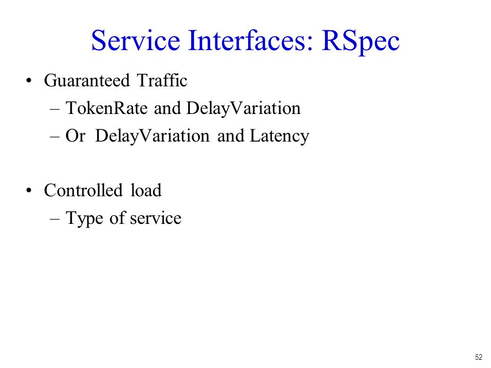 Service Interfaces: RSpec