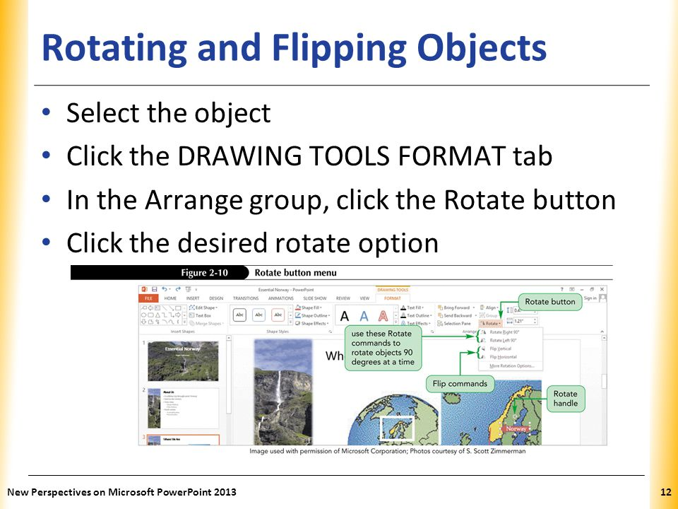 Rotating and Flipping Objects