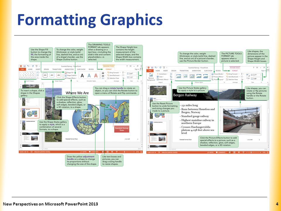 Formatting Graphics New Perspectives on Microsoft PowerPoint 2013