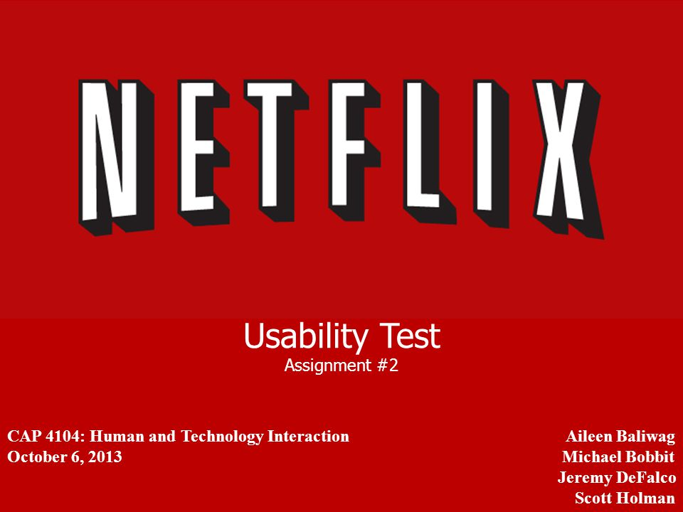 Usability Test Assignment #2