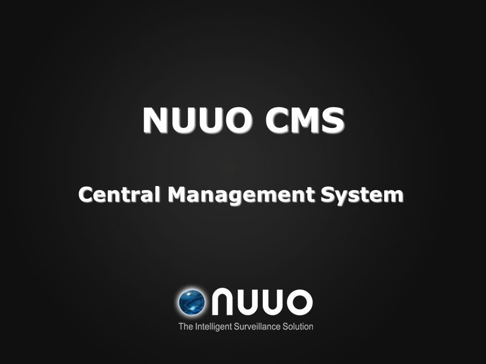Central Management System
