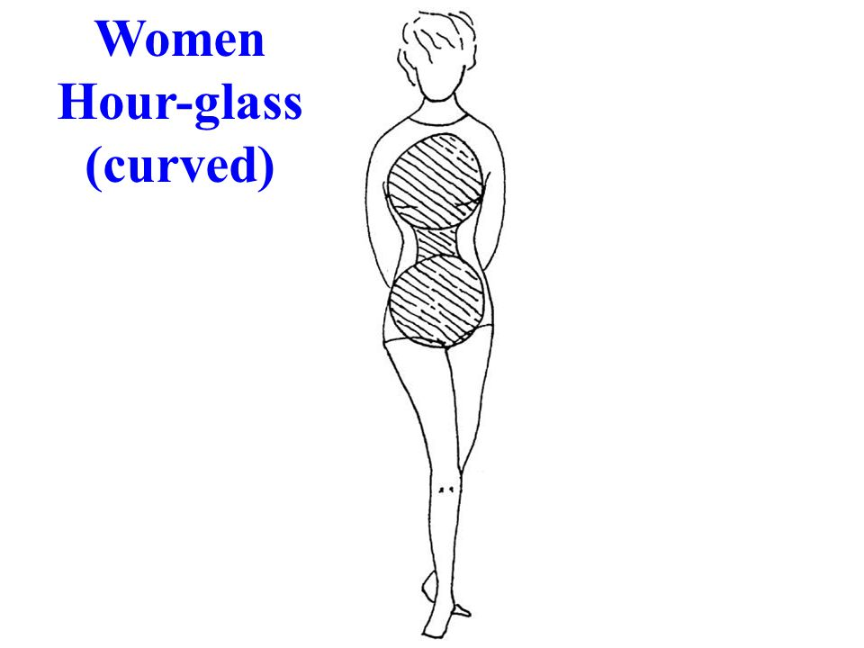 Women Hour-glass (curved)