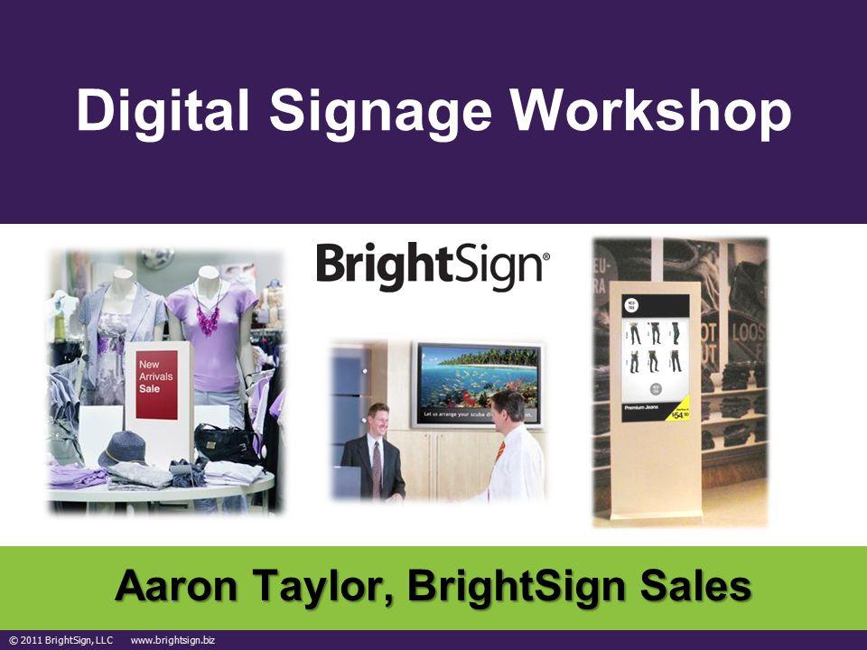 Digital Signage Workshop