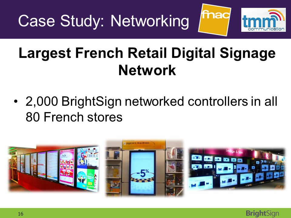 Case Study: Networking