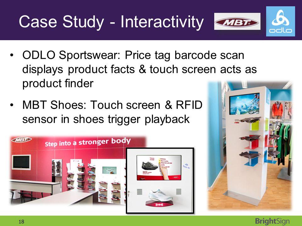 Case Study - Interactivity