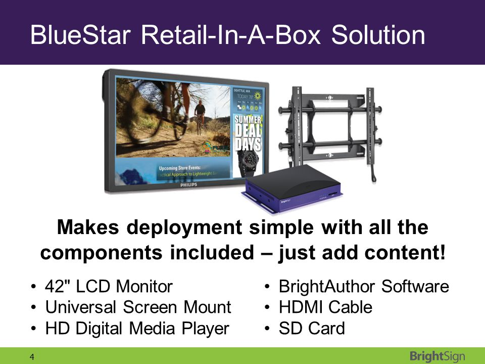 BlueStar Retail-In-A-Box Solution