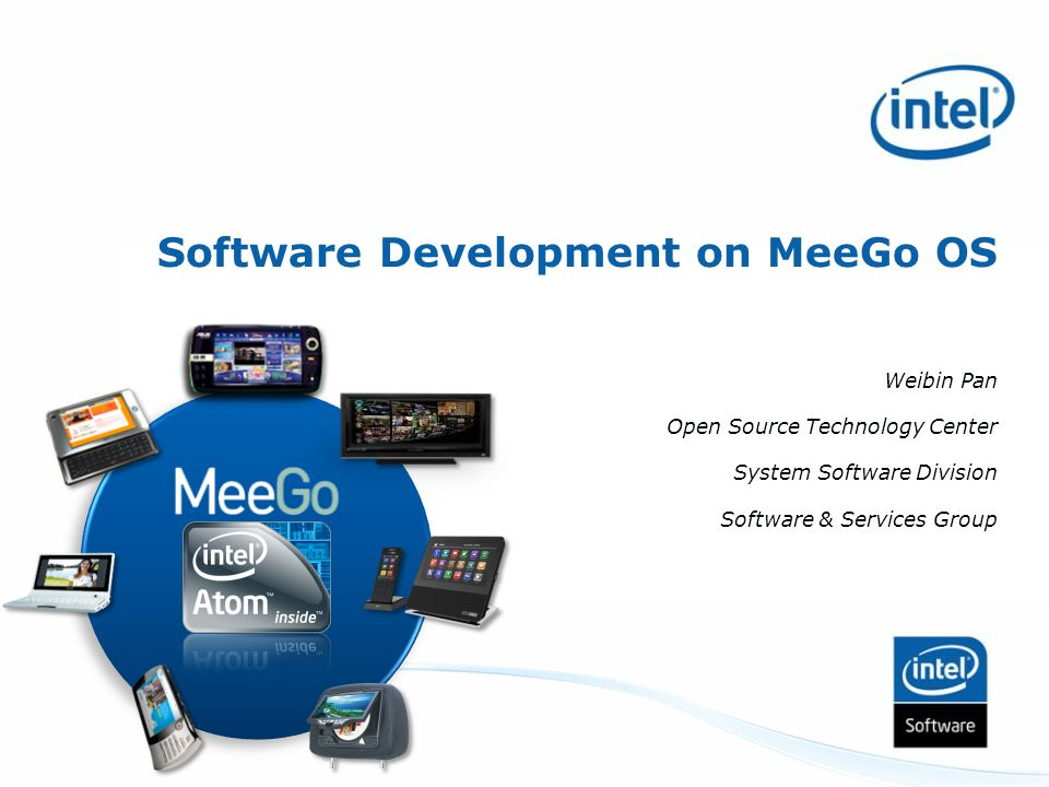 Software Development on MeeGo OS