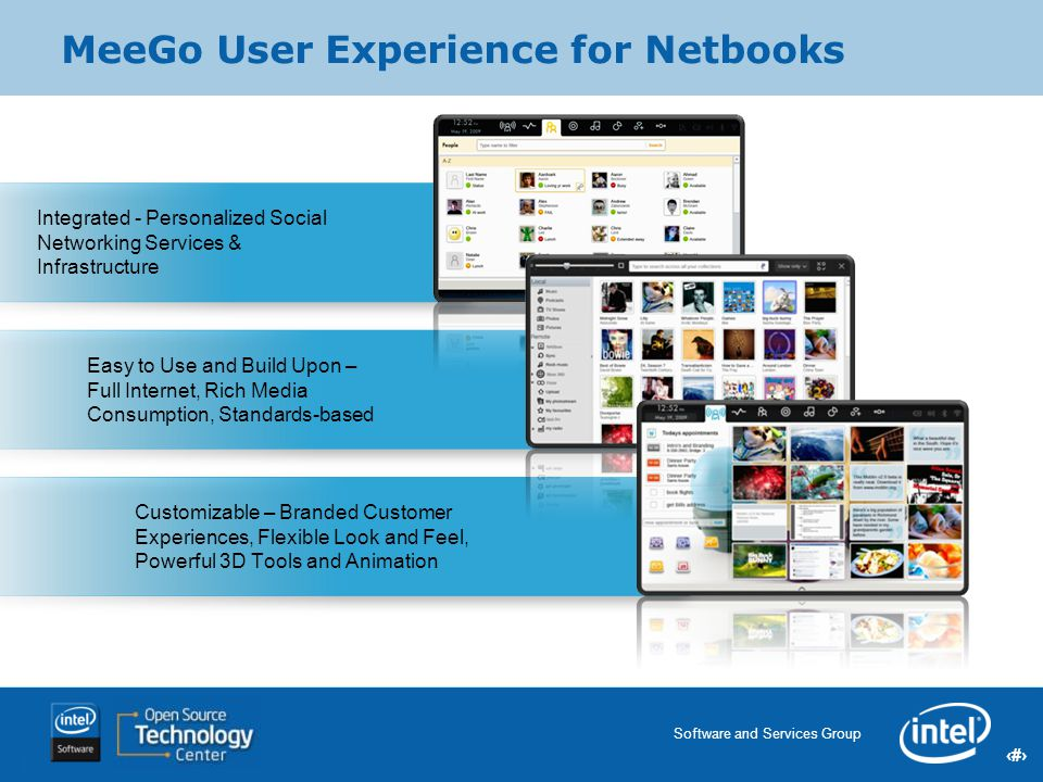 MeeGo User Experience for Netbooks