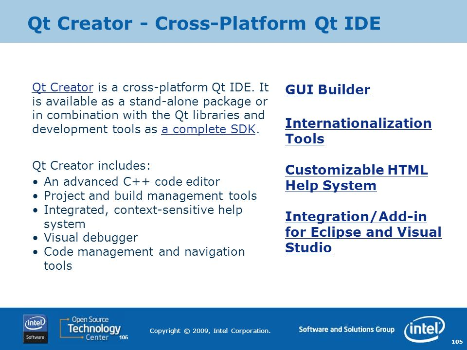 Qt Creator - Cross-Platform Qt IDE