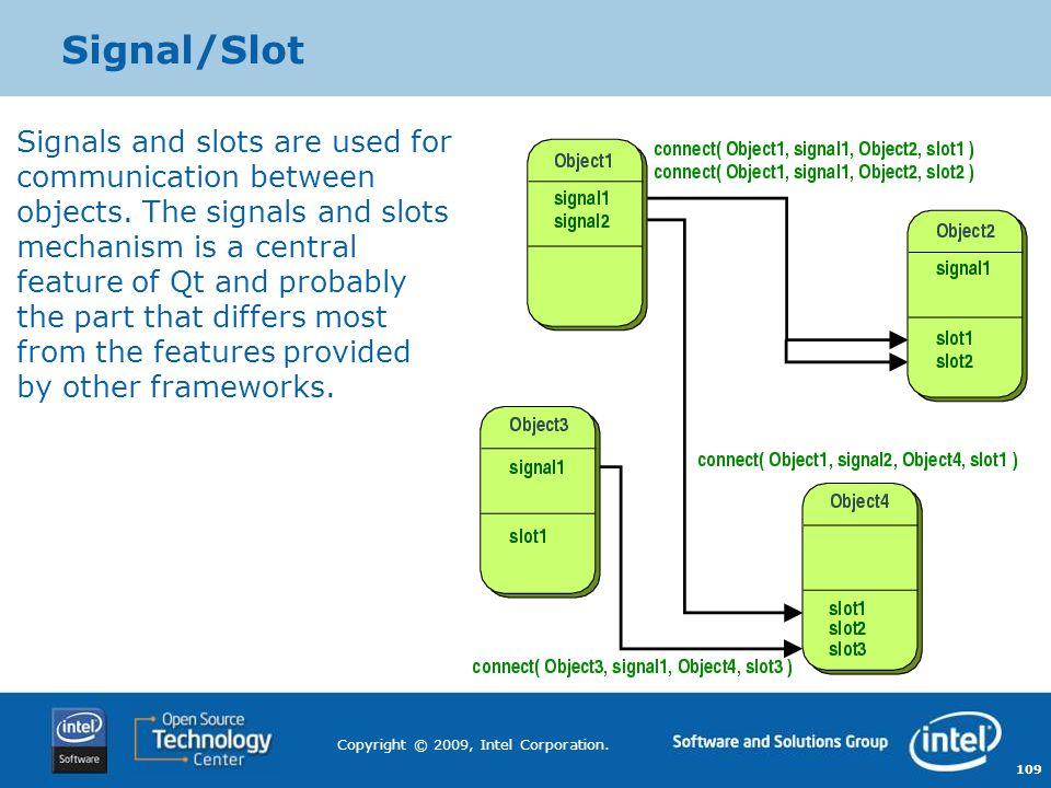 Signal/Slot