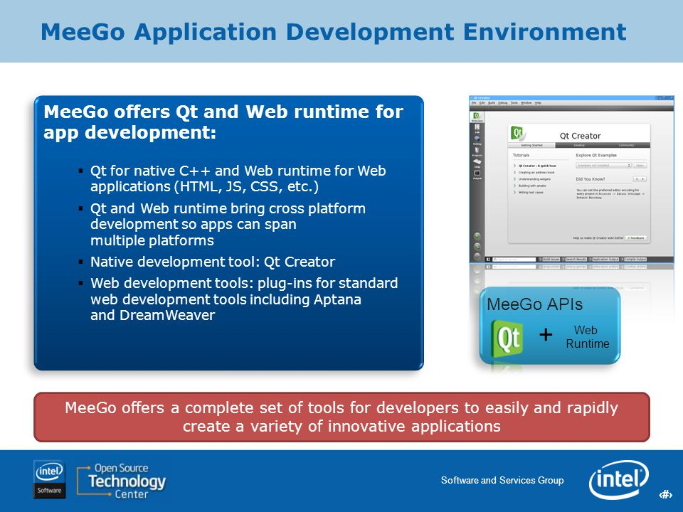 MeeGo Application Development Environment