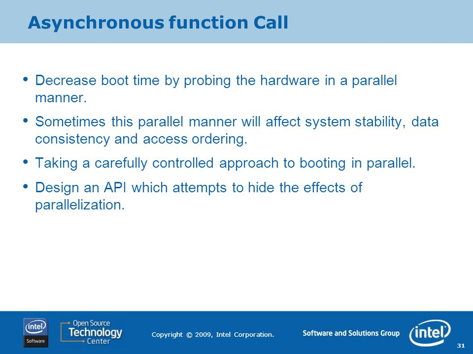 Asynchronous function Call