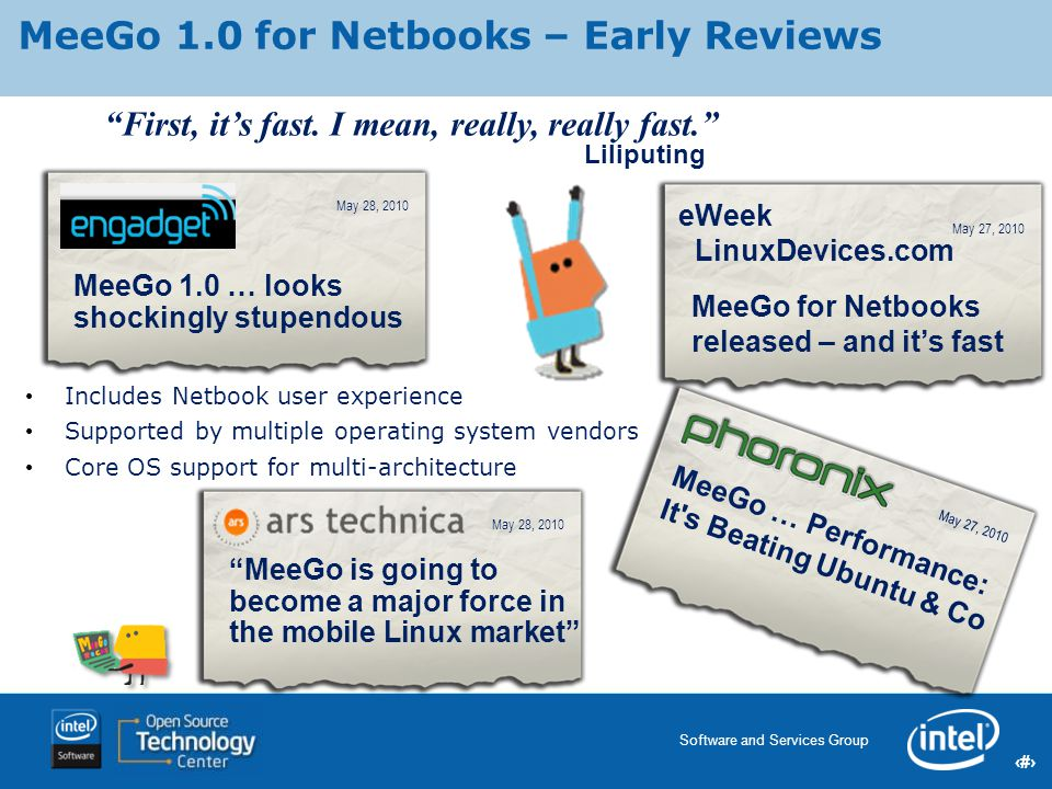 MeeGo 1.0 for Netbooks – Early Reviews