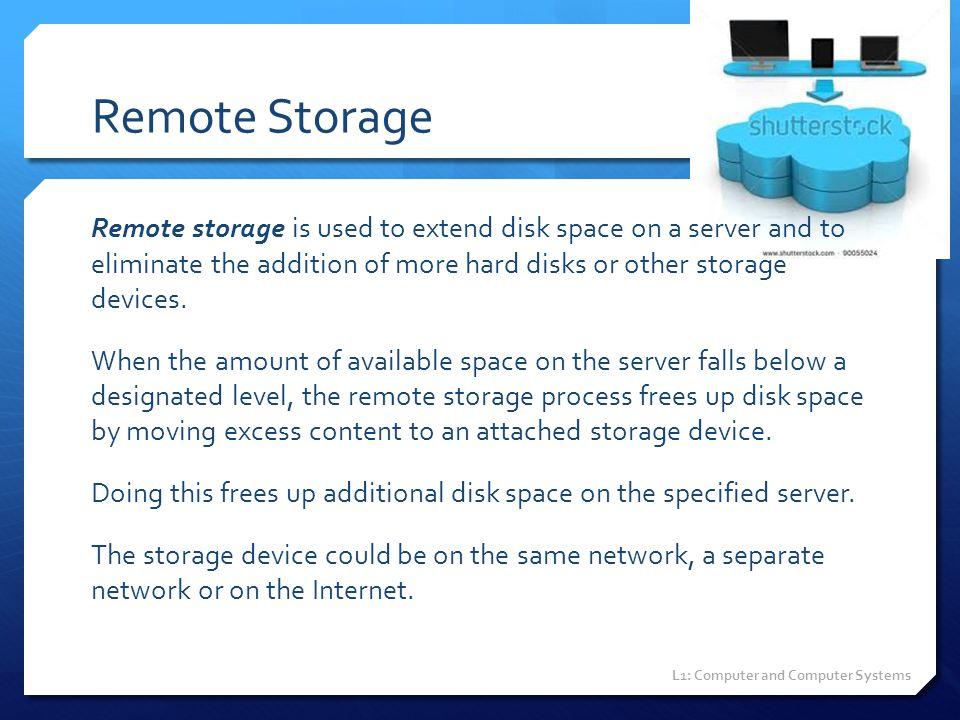Remote Storage