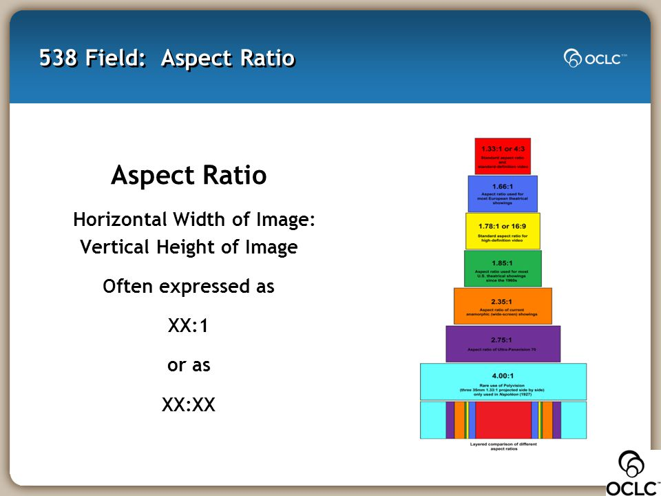 Horizontal Width of Image: Vertical Height of Image