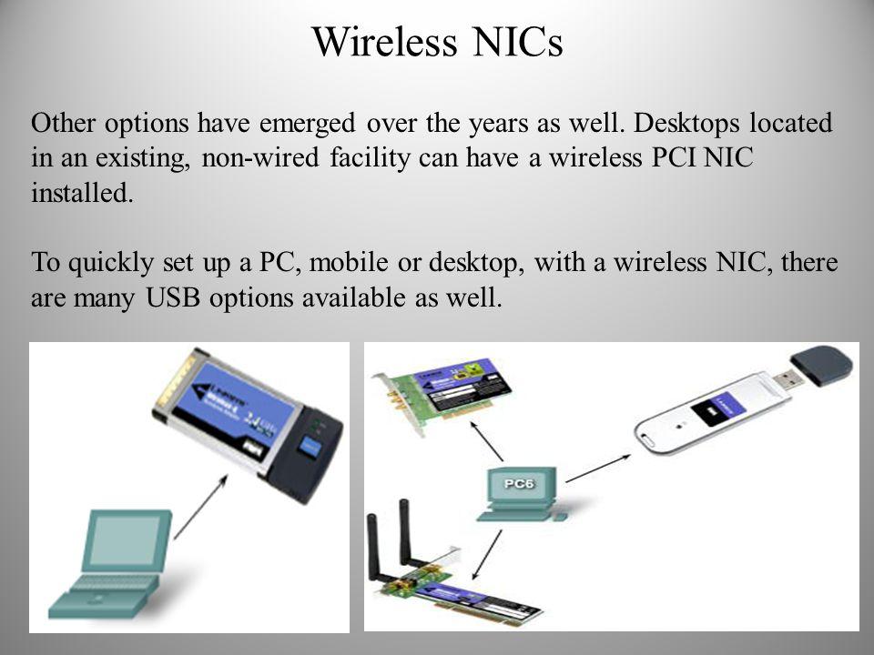 Wireless NICs